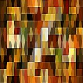 art abstract colorful geometric seamless pattern background in gold, red, brow and green colors