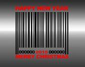 Merry Christmas Barcode.