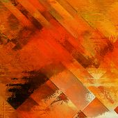 art abstract colorful acrylic background in red, orange, brown and gold colors