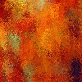 art abstract pixel geometric pattern background in red, orange, gold and green colors