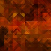 art abstract colorful geometric seamless pattern; background in gold, red, brown and black colors