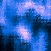 art abstract pixel geometric pattern background in blue, black and white colors