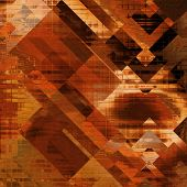 art abstract colorful diagonal geometric pattern; acrylic background in orange, red and brown colors