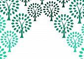 Decorative Tree Background
