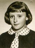 POLAND, CIRCA SIXTIES - Vintage photo of young girl