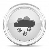 snowing internet icon