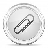 paperclip internet icon