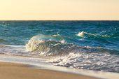 Waves On The Beach Of A Tropical Sea