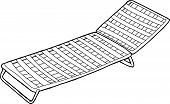 Outline Of Deck Chair