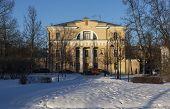 Literary-historical museum of the city of Pushkin. (Tsarskoye Selo). Russia.