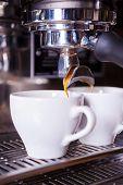 Fresh And Hot Coffee.