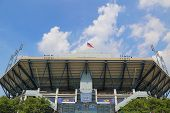 Arthur Ashe Stadium during US Open 2014 at Billie Jean King National Tennis Center