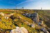 Mines At Botallack Cornwall