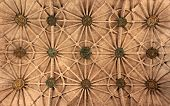 Abstract Pattern Of A Ceiling