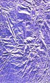Violet foil texture