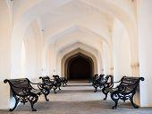 Chair In Amber Fort Corridor
