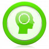 head icon human head sign