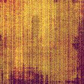 Old texture with delicate abstract pattern as grunge background. With different color patterns: purple (violet); yellow (beige); brown; red (orange)