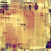 Grunge, vintage old background. With different color patterns: purple (violet); yellow (beige); brown; gray