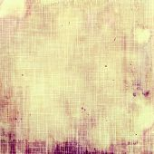 Abstract old background with rough grunge texture. With different color patterns: purple (violet); yellow (beige); brown