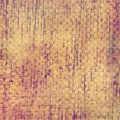 Old background with delicate abstract texture. With different color patterns: purple (violet); yellow (beige); brown; gray