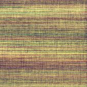 Dirty and weathered old textured background. With different color patterns: purple (violet); yellow (beige); brown; green