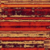 Abstract rough grunge background, colorful texture. With different color patterns: yellow (beige); brown; red (orange); gray