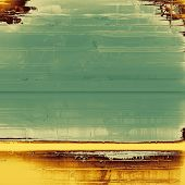 Old school textured background. With different color patterns: yellow (beige); brown; gray; green