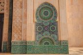 Tiles Pattern At Mosque Of Haasan Ii