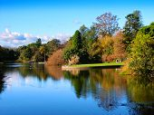 Ornamental Lake Melbourne Australia