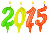 Candles New Year 2015