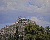 Athens saint George church on Lycabetus hill