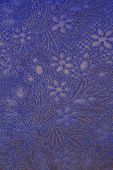 Floral ornate wallpaper texture