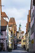 Historic Building In Rothenburg Ob Der Tauber