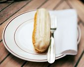 Eclair for breakfast