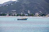 Fishing Boat Off St Marting Coast