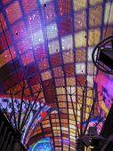 Neon Lights In Fremont Street, Las Vegas