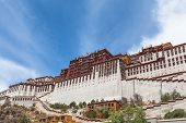 Under The Potala Palace