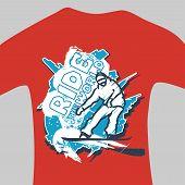 Vector Print For Sweatshirt