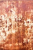 Rusty Vintage Metallic Iron Background
