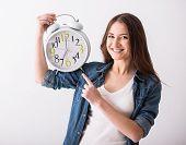 Woman. Time.