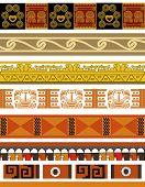 Aztec pattern designs
