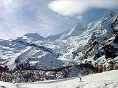 Swiss glacier