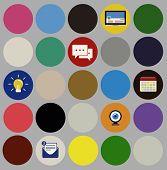 Social Media Icons Signs Symbols Illustration Concept