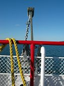 Journey On A Ferry Boat