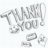 An image of thank you messages.