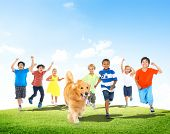 Elementary Age Children Kids Fun Summer Pet Dog