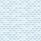 pic of pale  - Simple pale blue wave seamless pattern - JPG