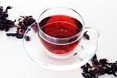 Cup Of Karkadeh Red Tea