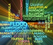 picture of flood-lights  - Background concept wordcloud multilanguage international many language illustration of flood glowing light - JPG